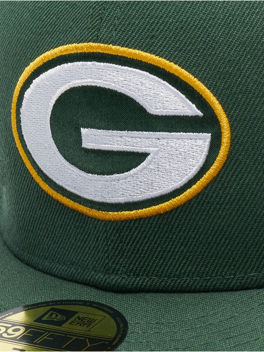 New Era Fitted Cap NFL Champs Pack Green Bay 59Fifty zelená