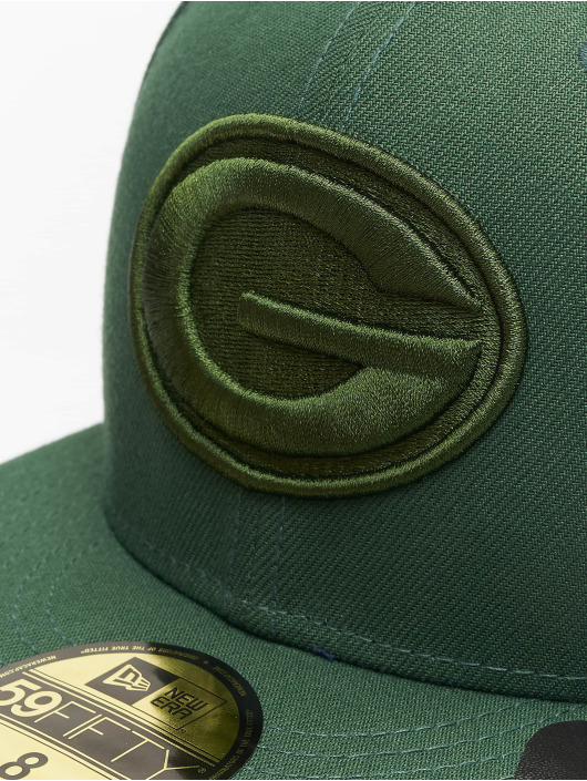 New Era Fitted Cap NFL Green Bay Packers Tonal 59fifty zelená
