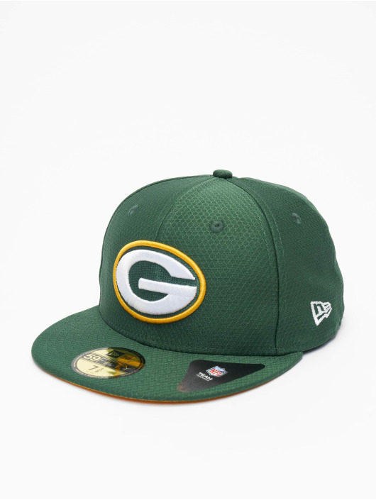 New Era Fitted Cap NFL Green Bay Packers Hex Era 59fifty zelená