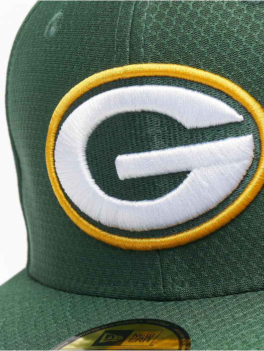 New Era Fitted Cap NFL Green Bay Packers Hex Era 59fifty zielony