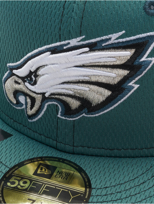 New Era Fitted Cap 59Fifty Onfield 19 SL RD Philadelphia Eagles zielony
