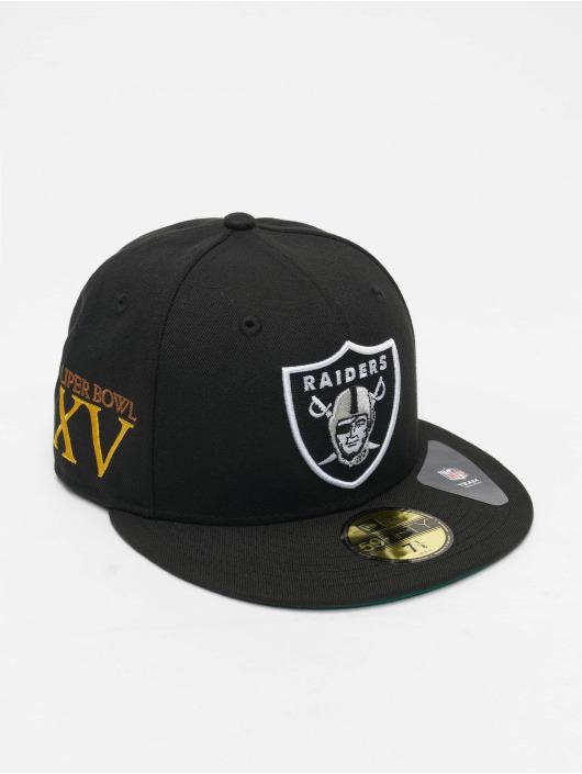 New Era Fitted Cap NFL Las Vegas Raiders Retro Sports 59Fifty zwart