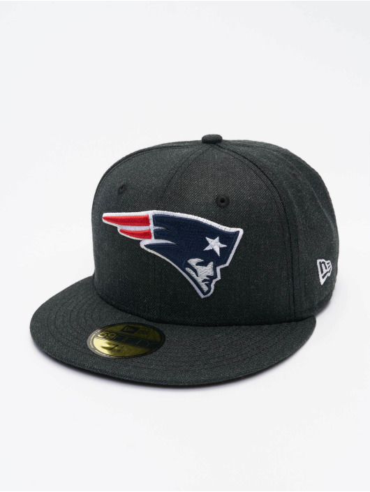 New Era Fitted Cap NFL New England Patriots 59Fifty zwart