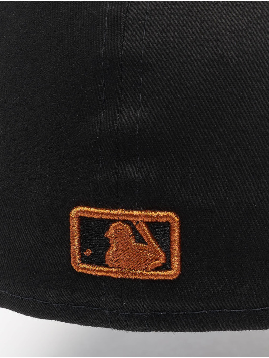 New Era Fitted Cap MLB Los Angeles Dodgers League Essential 59Fifty zwart