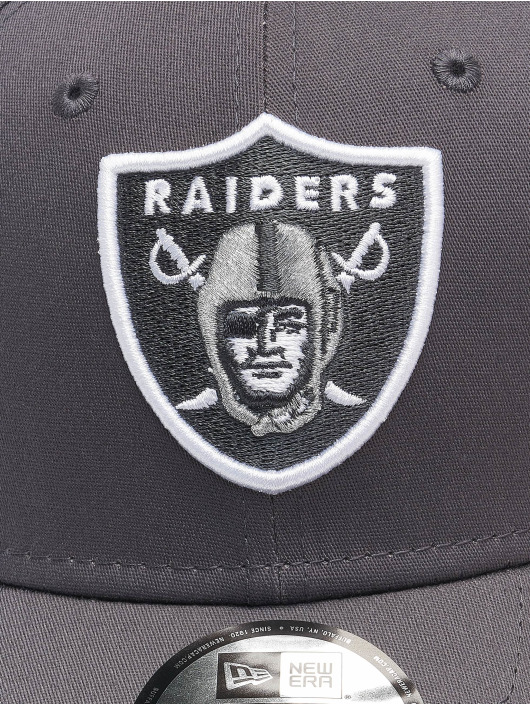 New Era Flex fit keps NFL Las Vegas Raiders Gray Pop 39Thirty grå