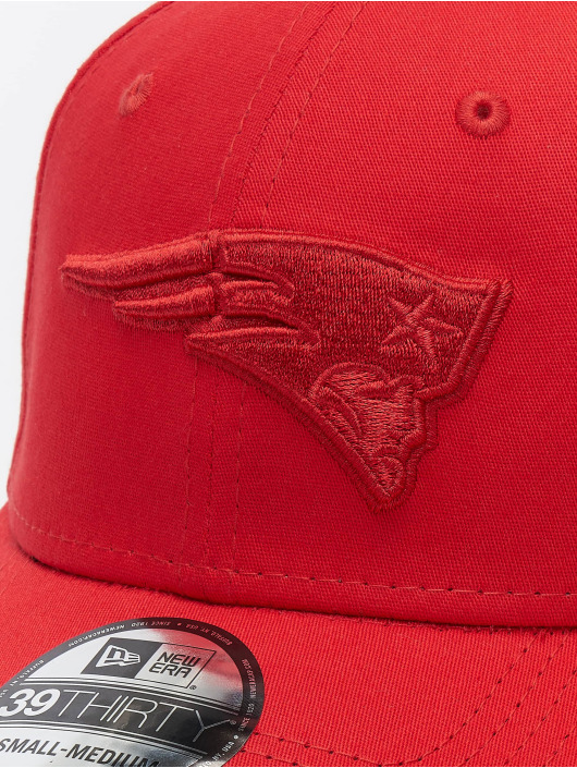 New Era Flexfitted Cap NFL New England Patriots Team Tonal 39thirty èervená