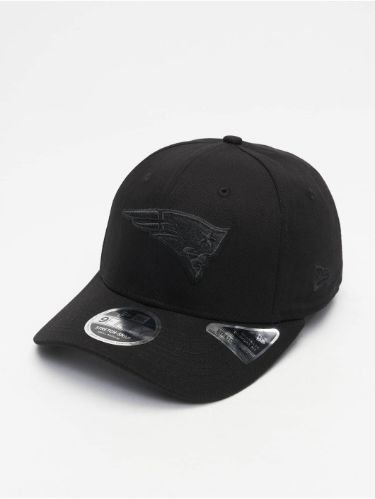 New Era Flexfitted Cap Tonal Black 9Fifty New England Patriots èierna