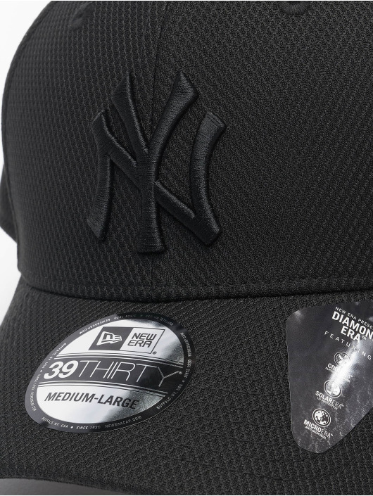 New Era Flexfitted Cap MLB NY Yankees Diamond Era 39thirty èierna