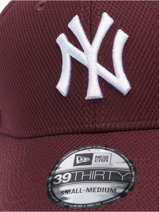 New Era Flexfitted Cap MLB NY Yankees Diamond Era 39thirty červený