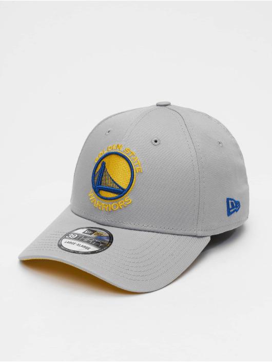 New Era Flexfitted Cap NBA Team Golden State Warriors 39Thirty šedá