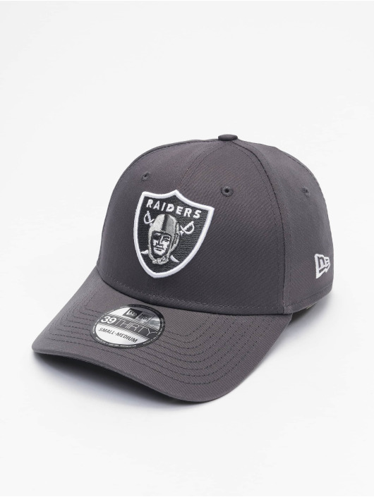 New Era Flexfitted Cap NFL Las Vegas Raiders Gray Pop 39Thirty šedá