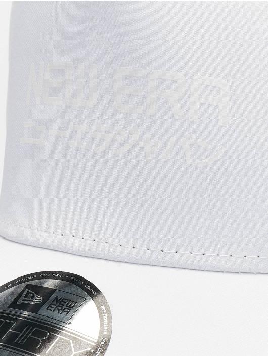 New Era Flexfitted Cap Tech Seam 39thirty bialy