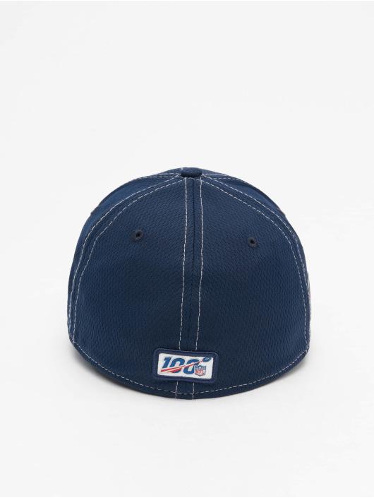 New Era Flexfitted Cap NFL New England Patriots Onfield Road 39Thirty blå