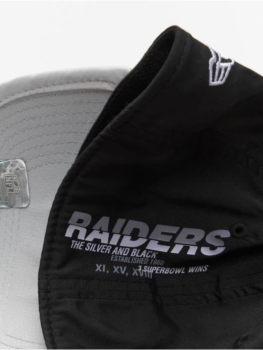 New Era Flexfitted Cap NFL Oakland Raiders Back Script 39Thirty black
