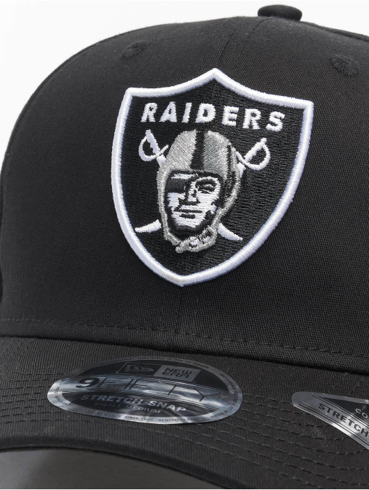 New Era Flexfitted Cap Team Stretch 9Fifty Las Vegas Raiders black