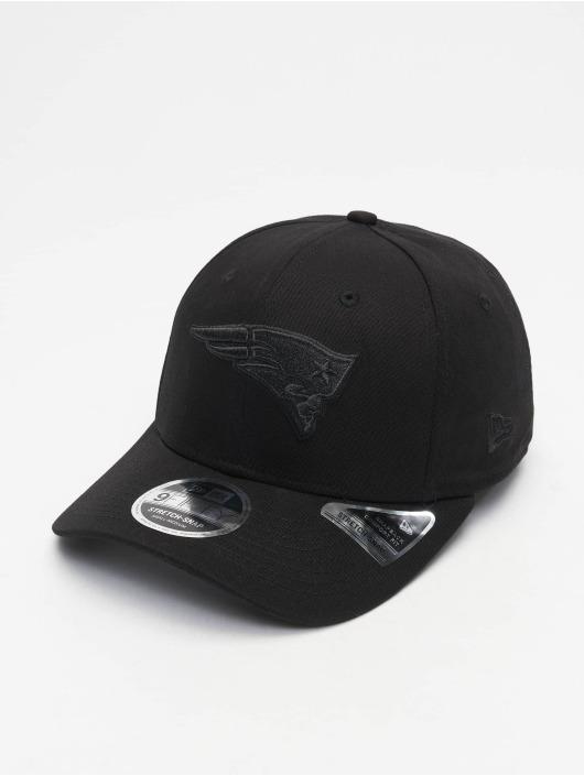 New Era Flexfitted Cap Tonal Black 9Fifty New England Patriots black