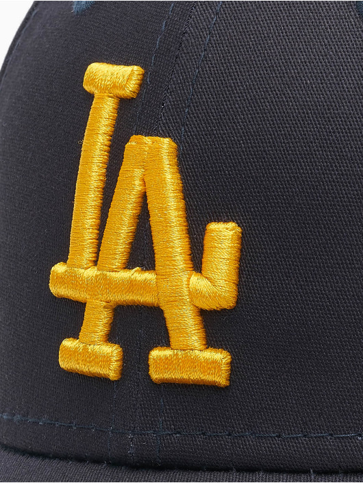 New Era Flexfitted Cap MLB La Dodgers League Essential 39Thirty blau
