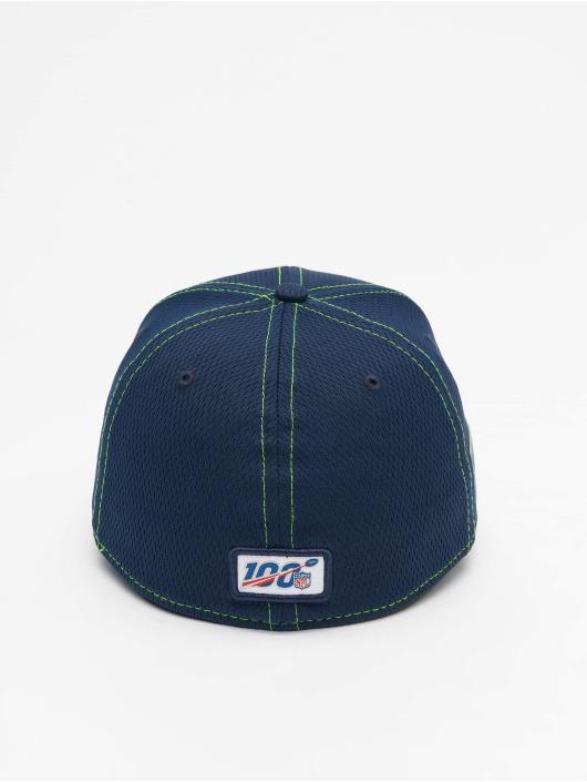 New Era Flexfitted Cap NFL Seattle Seahawks Onfield Road 39Thirty blau