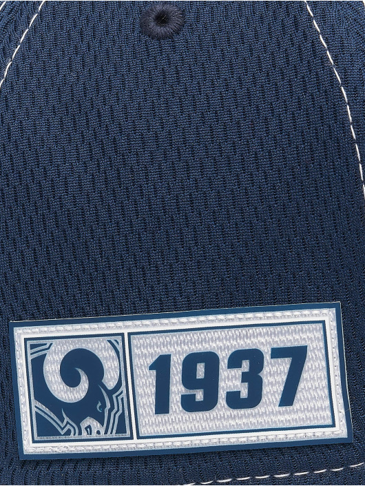 New Era Flexfitted Cap NFL LA Rams Onfield Road 39Thirty blauw