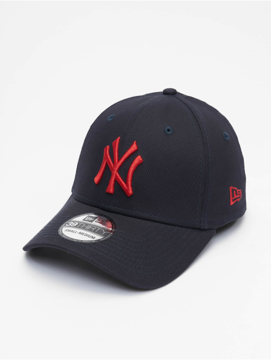 New Era Flexfitted Cap MLB NY Yankees League Essential 39Thirty blauw