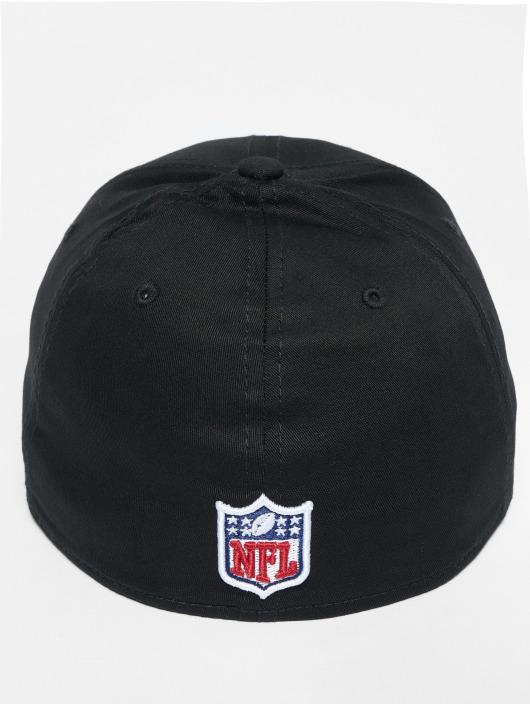 New Era Flexfitted Cap NFL Base Seattle Seahawks czarny