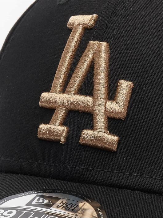 New Era Flexfitted Cap MLB Los Angeles Dodgers League Essential 39thirty czarny