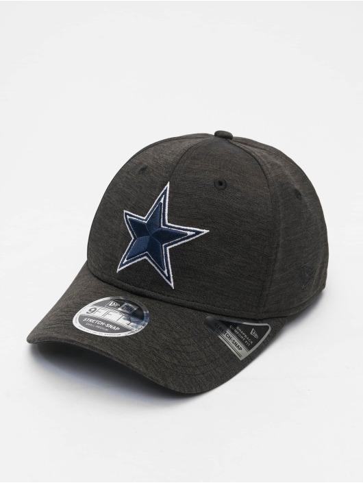 New Era Flexfitted Cap NFL Dallas Cowboys Total Shadow Tech 9Fifty czarny