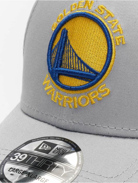 New Era Flexfitted Cap NBA Team Golden State Warriors 39Thirty grå