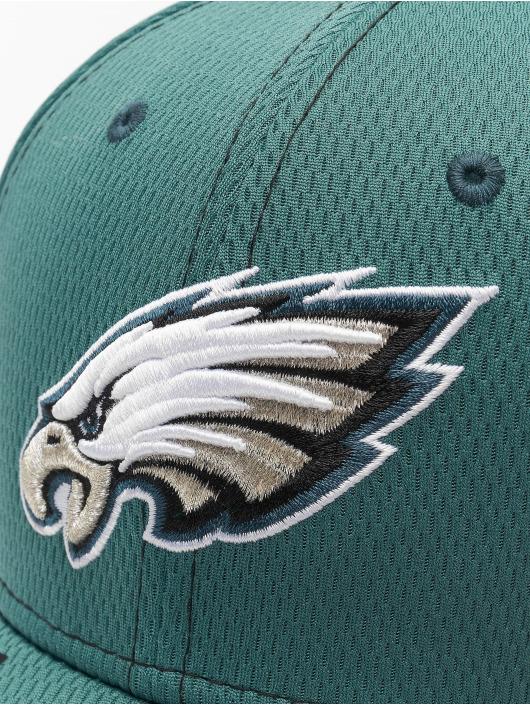 New Era Flexfitted Cap NFL Philadelphia Eagles Onfield Road 39Thirty grøn