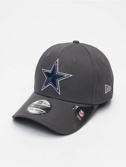 New Era Flexfitted Cap NFL Dallas Cowboys Team 39Thirty grau
