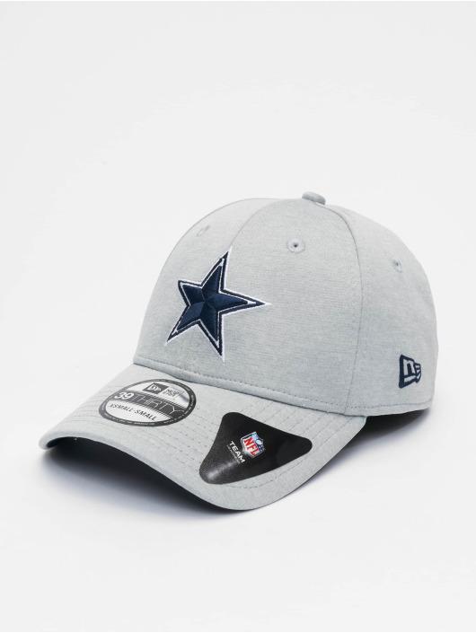 New Era Flexfitted Cap NFL Dallas Cowboys Shadow Tech 39thirty gray