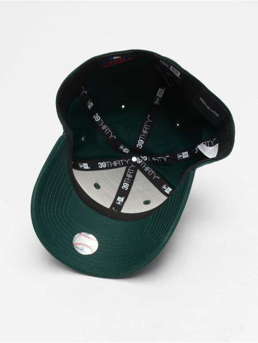 New Era Flexfitted Cap MLB League Essential Los Angeles Dodgers 39 Thirty green