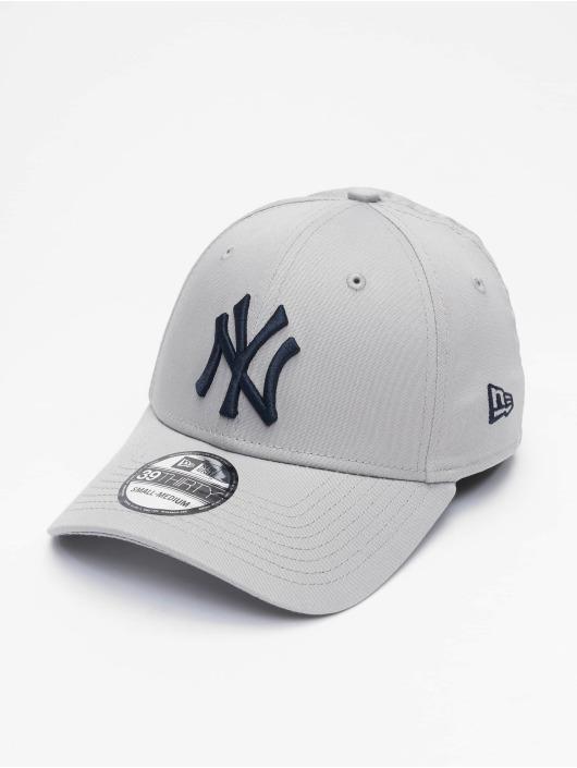 New Era Flexfitted Cap MLB NY Yankees League Essential 39Thirty grey