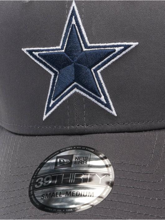 New Era Flexfitted Cap NFL Dallas Cowboys Team 39Thirty grey