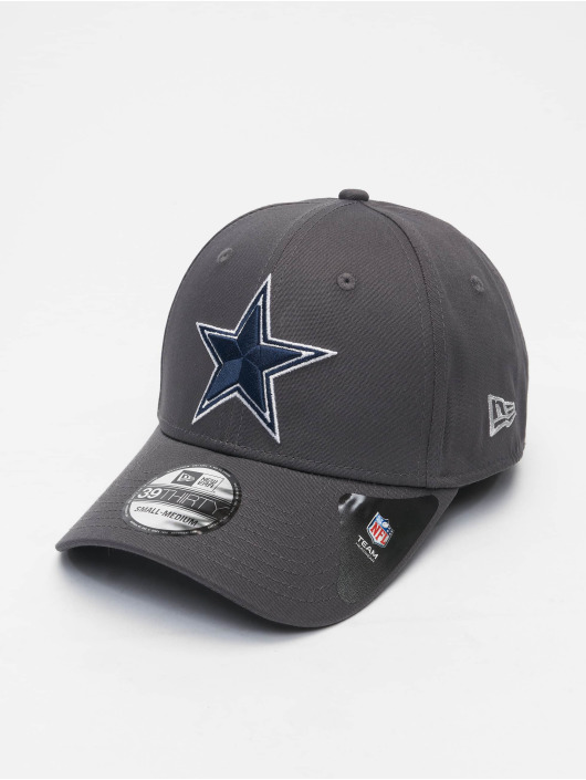 New Era Flexfitted Cap NFL Dallas Cowboys Team 39Thirty grijs