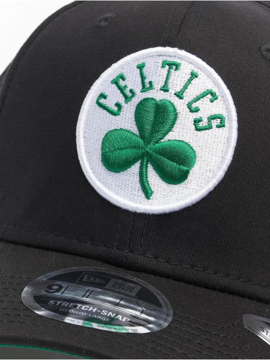 New Era Flexfitted Cap Team Stretch 9Fifty Boston Celstics groen