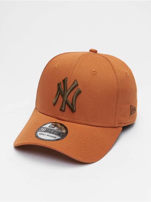 New Era Flexfitted Cap Mlb Properties New York Yankees League Essential 39thirty hnedá