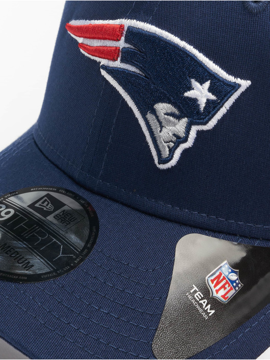 New Era Flexfitted Cap NBA New England Patriots League Eshortsleeveentl 39thirty modrá