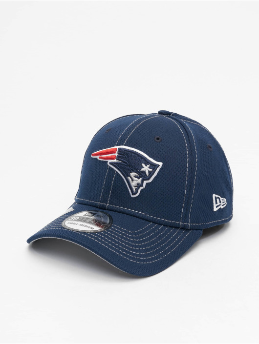 New Era Flexfitted Cap NFL New England Patriots Onfield Road 39Thirty modrý