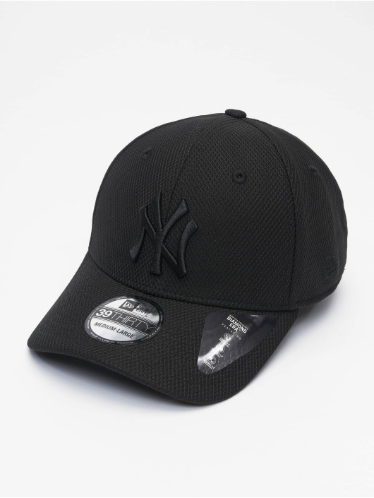 New Era Flexfitted Cap MLB NY Yankees Diamond Era 39thirty nero