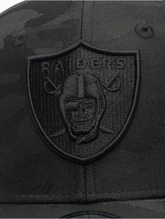 New Era Flexfitted Cap NFL Las Vegas Raiders Black Camo 39Thirty nero