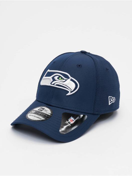New Era Flexfitted Cap NFL Seattle Seahawks Featherweight 39thirty niebieski
