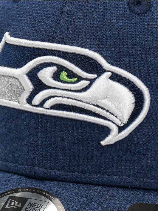 New Era Flexfitted Cap NFL Seattle Seahawks Shadow Tech 39thirty niebieski