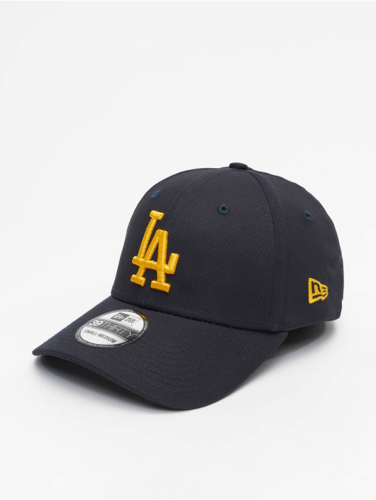 New Era Flexfitted Cap MLB La Dodgers League Essential 39Thirty niebieski