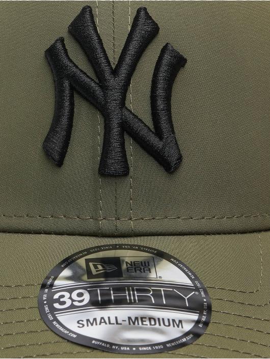 New Era Flexfitted Cap MLB New York Yankees Mesh Back 39Thirty olivová