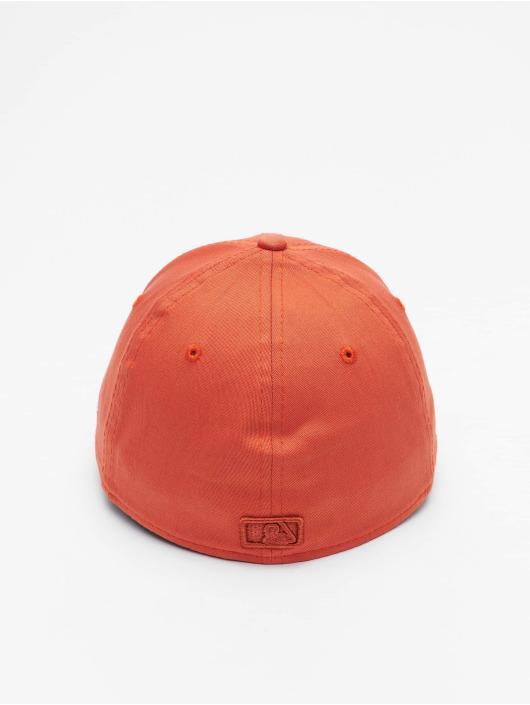 New Era Flexfitted Cap MLB New York Yankees League Essential 39Thirty pomaranczowy