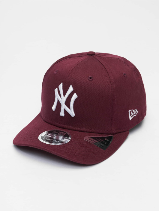 New Era Flexfitted Cap Colour Ess New York Yankees 9Fifty purple