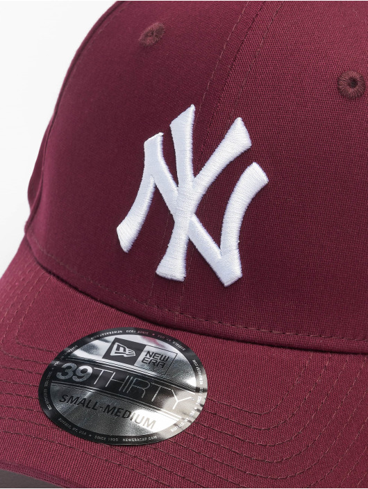 New Era Flexfitted Cap MLB NY Yankees League Eshortsleeveentl 39thirty red