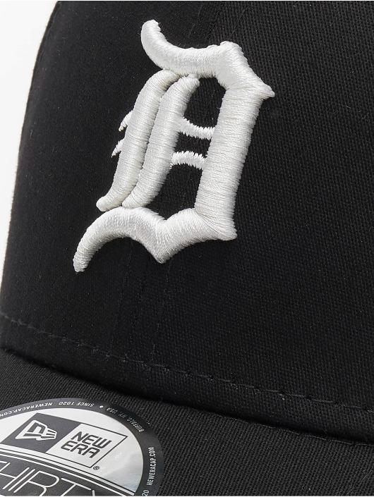 New Era Flexfitted Cap MLB Detroit Tigers League Essential 39thirty schwarz