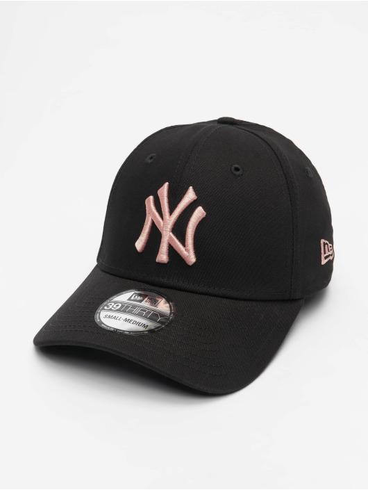 New Era Flexfitted Cap MLB NY Yankees Essential 39Thirty schwarz